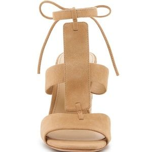 Botkier Alexia Suede Ankle Tie Sandal New